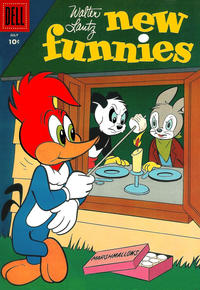 Cover Thumbnail for Walter Lantz New Funnies (Dell, 1946 series) #233
