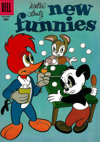Cover Thumbnail for Walter Lantz New Funnies (Dell, 1946 series) #237