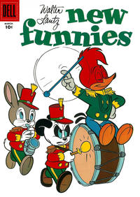 Cover Thumbnail for Walter Lantz New Funnies (Dell, 1946 series) #241