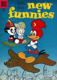 Cover Thumbnail for Walter Lantz New Funnies (Dell, 1946 series) #242