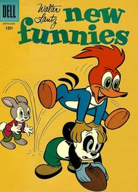 Cover Thumbnail for Walter Lantz New Funnies (Dell, 1946 series) #247 [10¢]