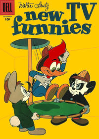 Cover Thumbnail for Walter Lantz New Funnies (Dell, 1946 series) #259