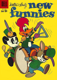 Cover Thumbnail for Walter Lantz New Funnies (Dell, 1946 series) #278