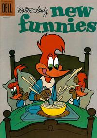 Cover Thumbnail for Walter Lantz New Funnies (Dell, 1946 series) #281