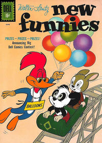 Cover Thumbnail for Walter Lantz New Funnies (Dell, 1946 series) #283