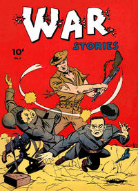 Cover Thumbnail for War Stories (Dell, 1942 series) #5
