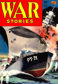 Cover Thumbnail for War Stories (Dell, 1942 series) #8