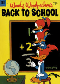 Cover Thumbnail for Walter Lantz Woody Woodpecker's Back to School (Dell, 1952 series) #2