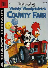 Cover Thumbnail for Walter Lantz Woody Woodpecker's County Fair (Dell, 1956 series) #2