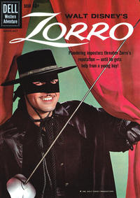 Cover Thumbnail for Walt Disney's Zorro (Dell, 1959 series) #9