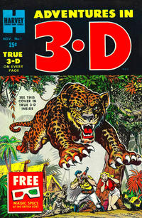 Cover Thumbnail for Adventures in 3-D (Harvey, 1953 series) #1