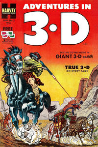 Cover Thumbnail for Adventures in 3-D (Harvey, 1953 series) #2