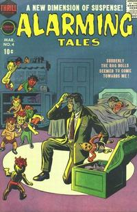 Cover Thumbnail for Alarming Tales (Harvey, 1957 series) #4