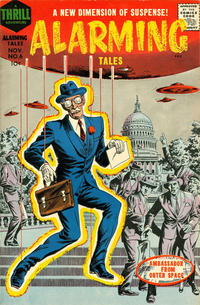 Cover Thumbnail for Alarming Tales (Harvey, 1957 series) #6
