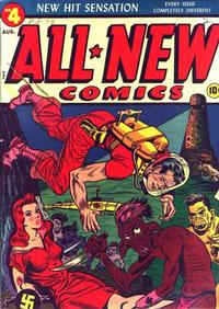 Cover Thumbnail for All-New Comics (Harvey, 1943 series) #4