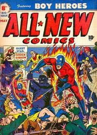 Cover Thumbnail for All-New Comics (Harvey, 1943 series) #8