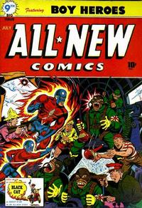 Cover Thumbnail for All-New Comics (Harvey, 1943 series) #9
