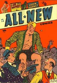Cover for All-New Comics (Harvey, 1943 series) #14