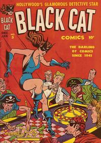 Cover Thumbnail for Black Cat (Harvey, 1946 series) #3