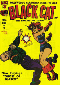 Cover Thumbnail for Black Cat (Harvey, 1946 series) #4