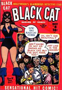 Cover Thumbnail for Black Cat (Harvey, 1946 series) #8