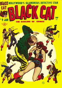 Cover Thumbnail for Black Cat (Harvey, 1946 series) #9