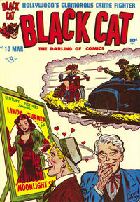 Cover Thumbnail for Black Cat (Harvey, 1946 series) #10