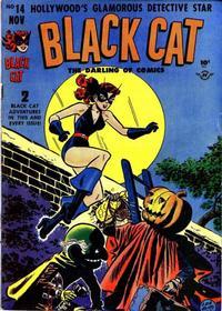Cover Thumbnail for Black Cat (Harvey, 1946 series) #14