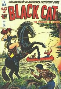 Cover Thumbnail for Black Cat (Harvey, 1946 series) #15
