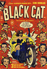 Cover Thumbnail for Black Cat (Harvey, 1946 series) #25