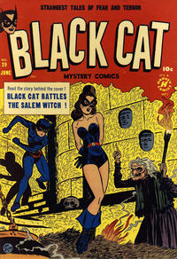 Cover Thumbnail for Black Cat (Harvey, 1946 series) #29