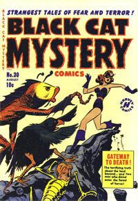 Cover Thumbnail for Black Cat (Harvey, 1946 series) #30