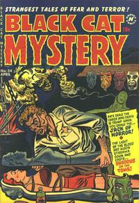 Cover Thumbnail for Black Cat (Harvey, 1946 series) #34
