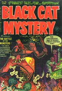 Cover Thumbnail for Black Cat (Harvey, 1946 series) #36
