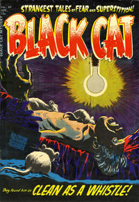 Cover Thumbnail for Black Cat (Harvey, 1946 series) #49