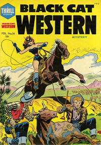 Cover Thumbnail for Black Cat (Harvey, 1946 series) #54