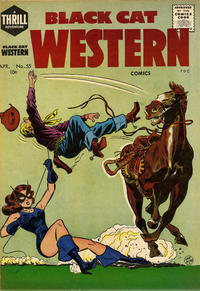 Cover Thumbnail for Black Cat (Harvey, 1946 series) #55