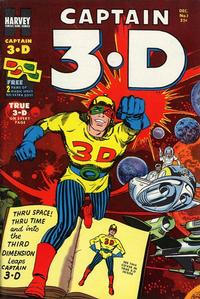 Cover Thumbnail for Captain 3-D (Harvey, 1953 series) #1