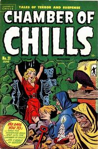 Cover Thumbnail for Chamber of Chills Magazine (Harvey, 1951 series) #21 [1]