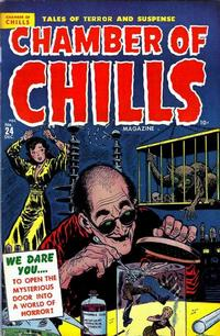 Cover for Chamber of Chills Magazine (Harvey, 1951 series) #24 [4]