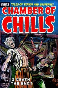 Cover for Chamber of Chills Magazine (Harvey, 1951 series) #22