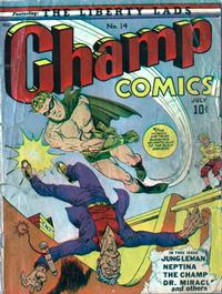 Cover Thumbnail for Champ Comics (Harvey, 1940 series) #14