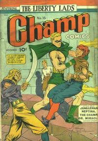 Cover Thumbnail for Champ Comics (Harvey, 1940 series) #16