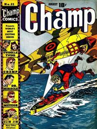 Cover Thumbnail for Champ Comics (Harvey, 1940 series) #21