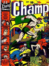 Cover Thumbnail for Champ Comics (Harvey, 1940 series) #22