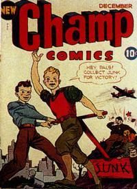 Cover Thumbnail for Champ Comics (Harvey, 1940 series) #24