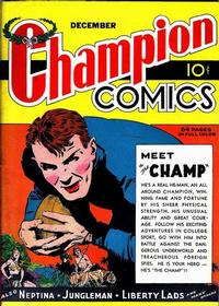 Cover Thumbnail for Champion Comics (Worth Carnahan, 1939 series) #2