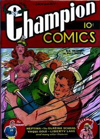 Cover Thumbnail for Champion Comics (Worth Carnahan, 1939 series) #3