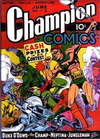Cover Thumbnail for Champion Comics (Worth Carnahan, 1939 series) #8