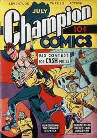 Cover Thumbnail for Champion Comics (Worth Carnahan, 1939 series) #9